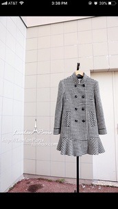 jacket,houndstooth