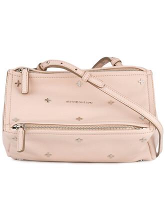 mini metal women bag crossbody bag leather purple pink
