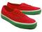 Rakuten global market: vans authentic (watermelon priint) high risk red black vans authentic print water melon watermelon red black classic line