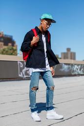 closet freaks,blogger,hat,jacket,t-shirt,jeans,shoes,sweatshirt,onesie,mug,hoodie,ripped jeans,cap,h&m,asos,nike shoes