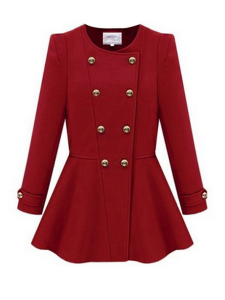 coat women female lovely