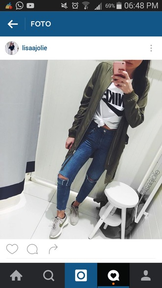 coat green jacket girl fall outfits winter outfits free vibrationz