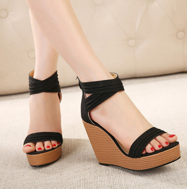 Summer Wedge Heels | Tsaa Heel