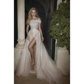 dress,embroidery wedding dresses,unique shoes,wedding dress,tulle dress,ballet flats