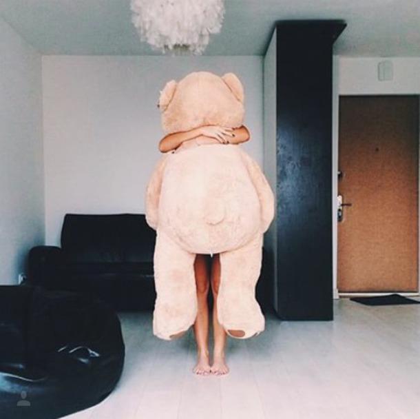 Home Accessory Teddy Bear Big Decor Cozy