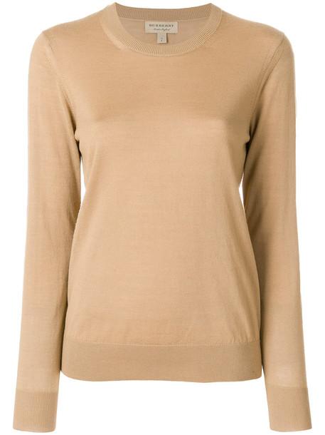 Burberry jumper women brown sweater