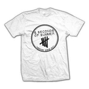 5SOS Clothing  | 5SOS: Derping Stamp T-Shirt | Shop the 5SOS Official Store