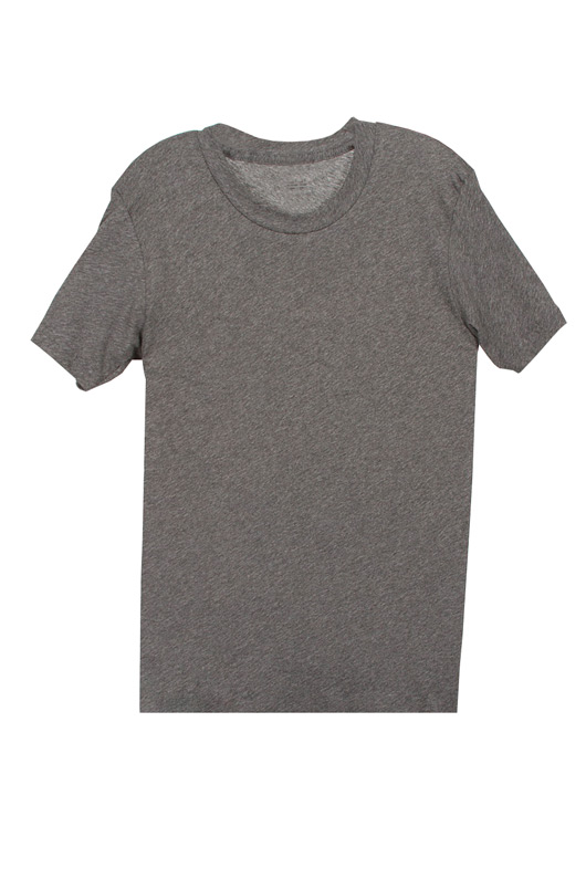 LNA Short Sleeve Crew Neck Tee in Heather Grey | SINGER22.com