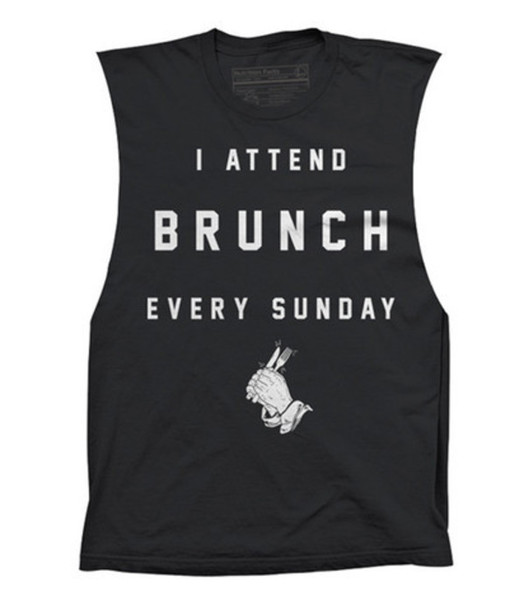 tank top black t-shirt brunch tumblr outfit