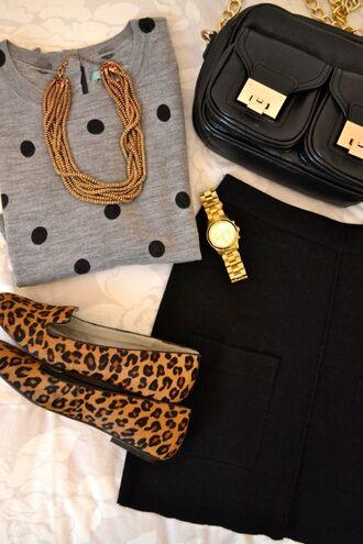 bag black bag black and gold chain bag