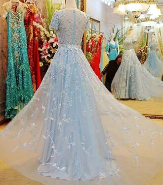 dress elie saab beaded evening gowns luxury evening dresses bling lace dresses