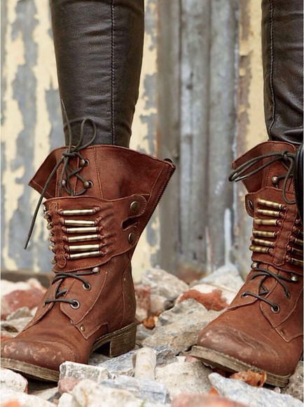 brown combat boots combat boots shoes
