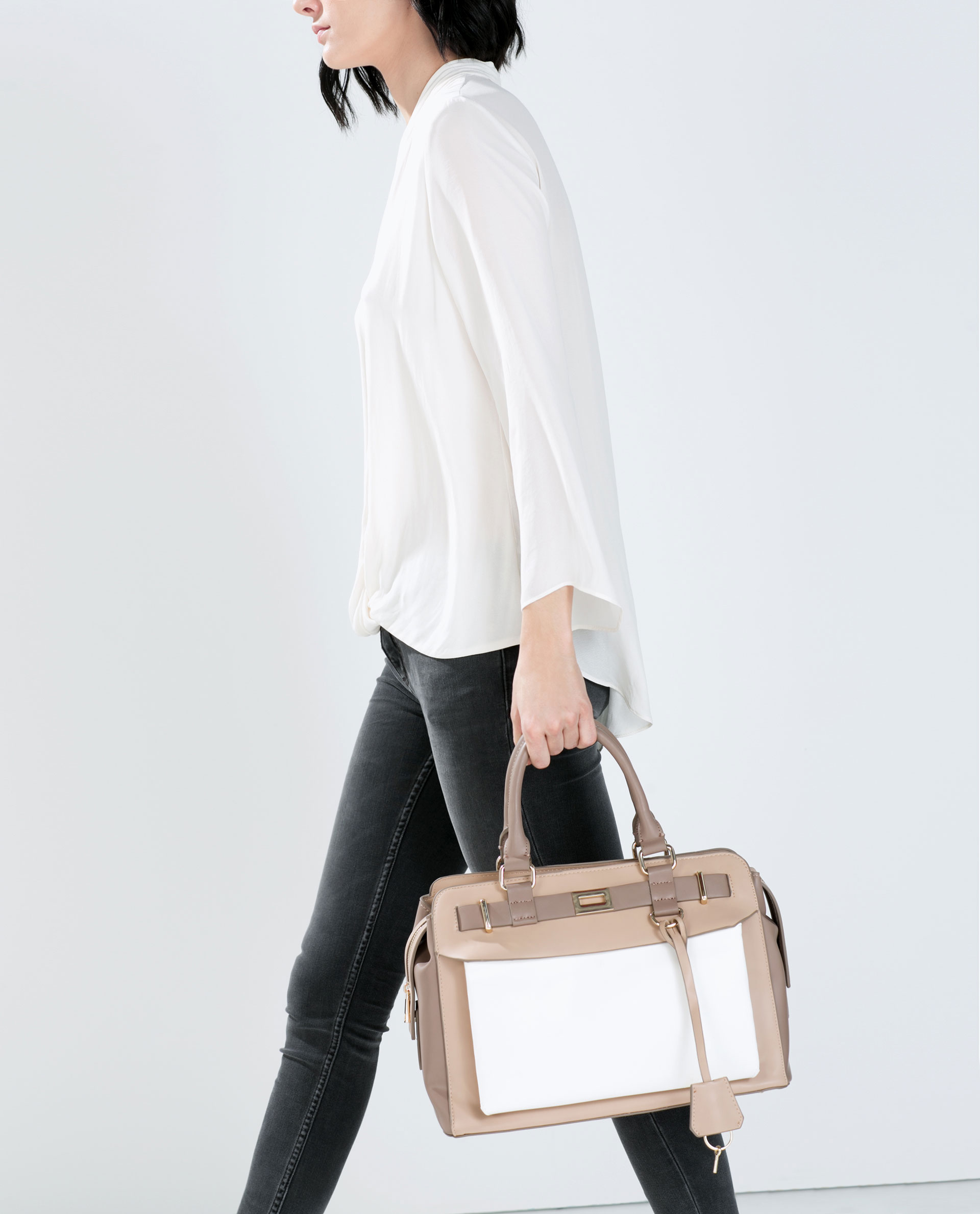 83791532882 COMBINATION CITY BAG - Bags - WOMAN | ZARA United States