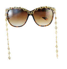 Crystal Sunglasses | Custom Made Sunglasses | Customized Sunglasses - The Crystal Cult