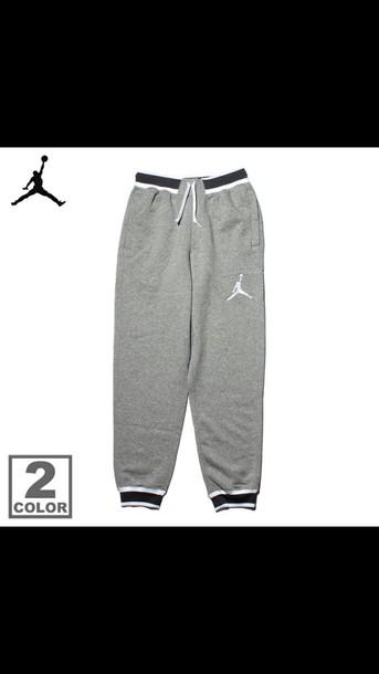 pants jordan basketball grey nike sportswear jordan pants air jordan mens women nike basketball black sweatpants white