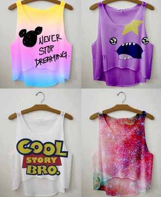 t-shirt cool story bro princesa bultos hora de aventuras adventuretime space universe purple blue white colorful summer