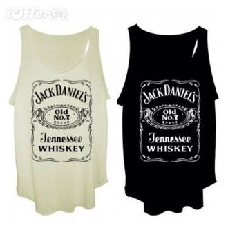 jack daniels whiskey tank tee