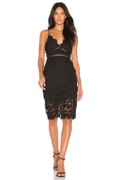Bardot dress lace dress lace black