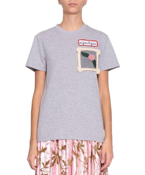 AU JOUR LE JOUR t-shirt shirt cotton t-shirt t-shirt cotton top