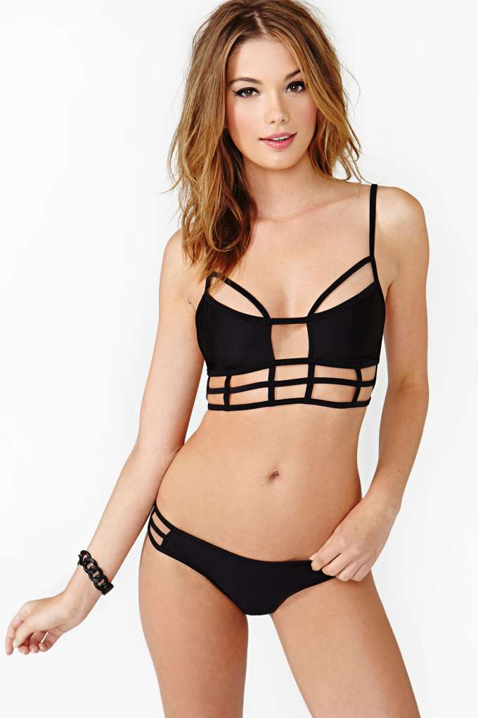 One Teaspoon Eagles Shadow Bikini in  Clothes Swimwear at Nasty Gal