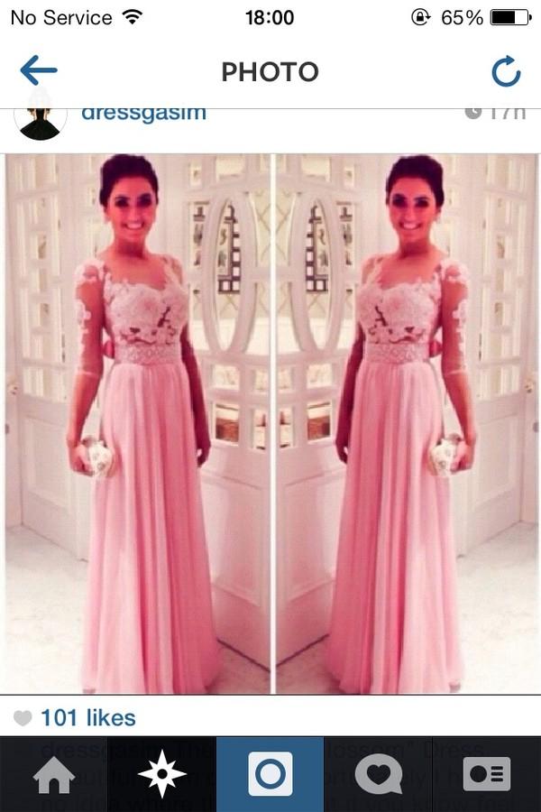 dress prom dress prom dress long prom dress pink pink dress long prom dress blossom pink longpinkdress