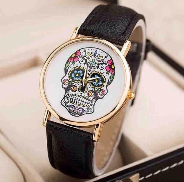 jewels jewelry watch skull skull heads