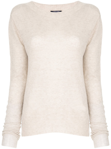 Woolrich jumper women nude wool sweater
