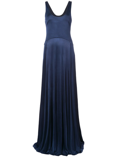 ZAC Zac Posen gown women blue dress