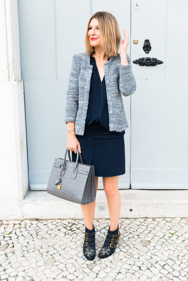 the working girl blogger top jewels jacket