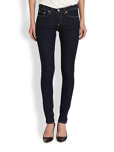 rag & bone/JEAN - High-Rise Skinny Jeans - Saks.com