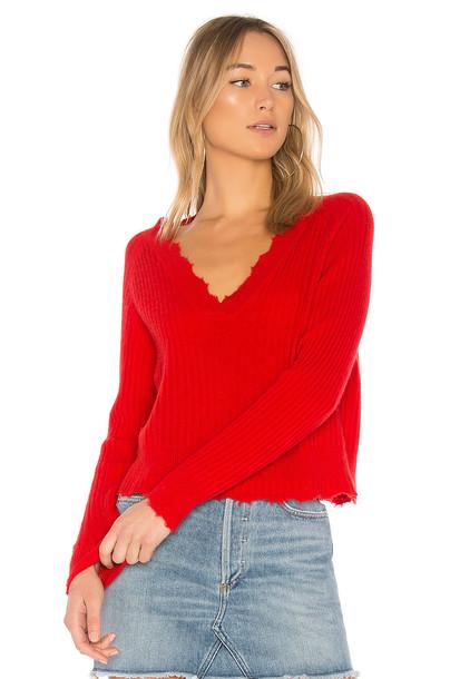 27 miles malibu sweater red