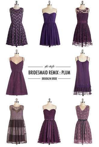 bklyn bride blogger bridesmaid plum purple dress