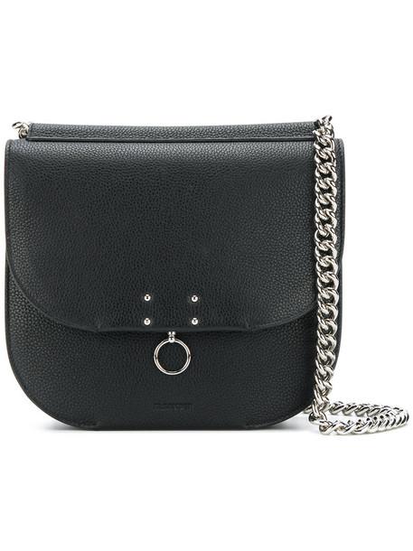 Jil Sander women bag crossbody bag leather black