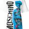 Moschino - bondage graphic logo t-shirt - women - cotton - s, white, cotton