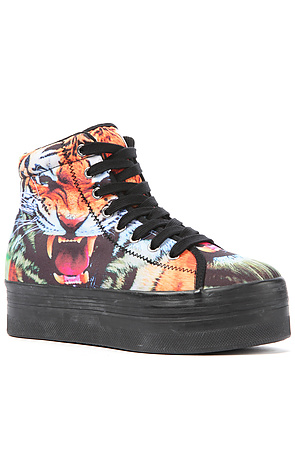 Jeffrey Campbell Sneakers Platform Tiger in Multicolor -  Karmaloop.com