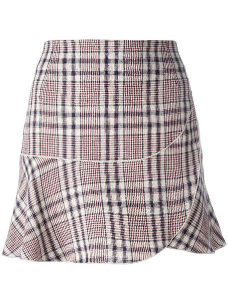 9b17dd7b51ef5 Isabel Marant etoile Isabel Marant Étoile 'Jevil' skirt, Women's, Size: 36,  Nude/Neutrals, Linen/Flax/Cotton