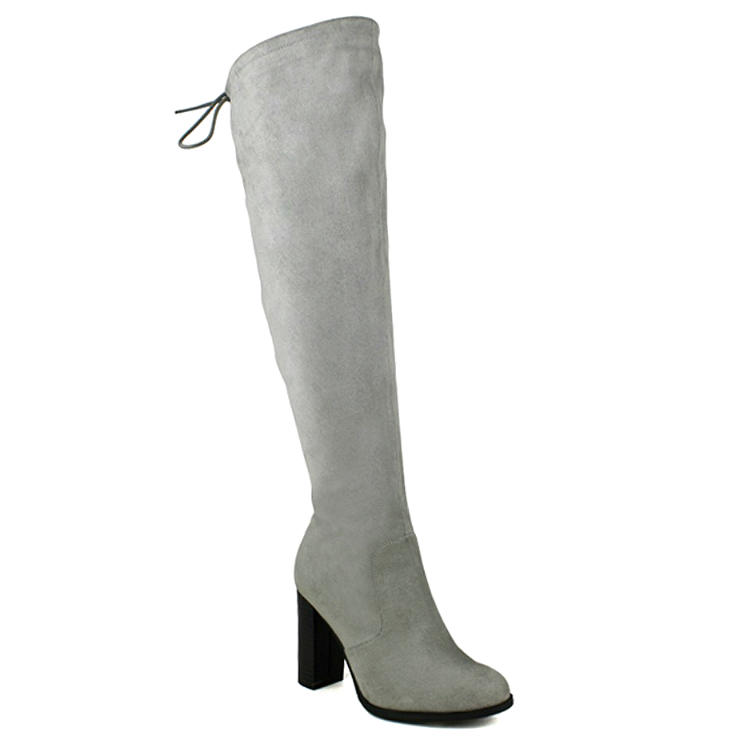 4584b0aae42a9 Jacob-01 Black Suede Over the Knee High Heel Boots