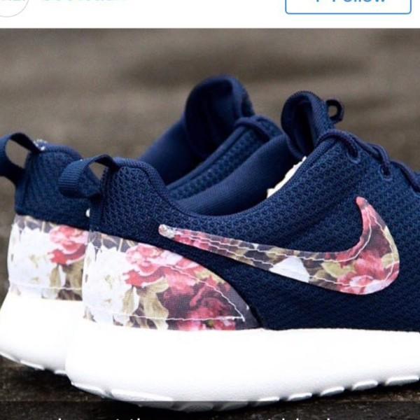 scarpe nike fiori