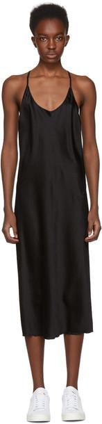 T by Alexander Wang dress slip dress black