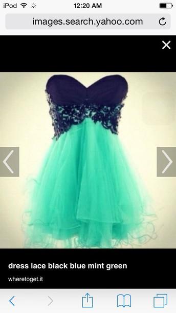 dress mint dress