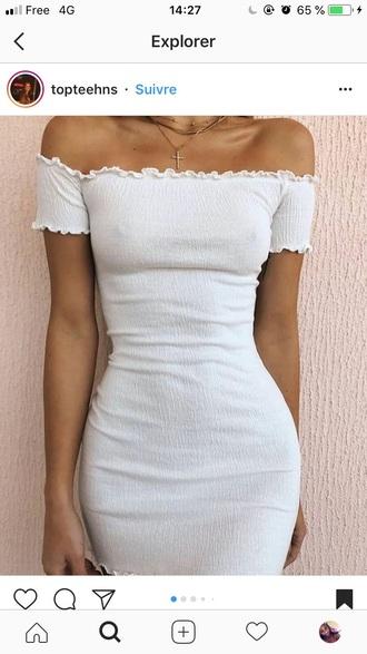 dress white dress white summer summer dress summer outfits spring spring dress spring outfits mini dress short dress short sleeve dress ruffle ruffle dress white ruffles