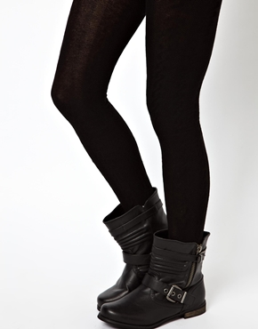 ASOS | ASOS Chunky Rib Tights at ASOS