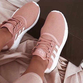 shoes adidas pink blush trainers