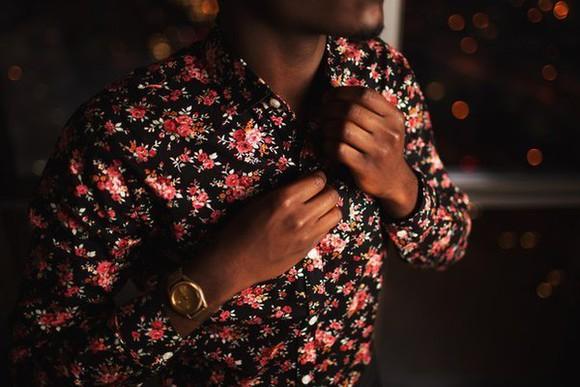 mens shirt 49. roses