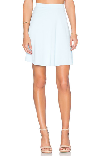 skirt high blue