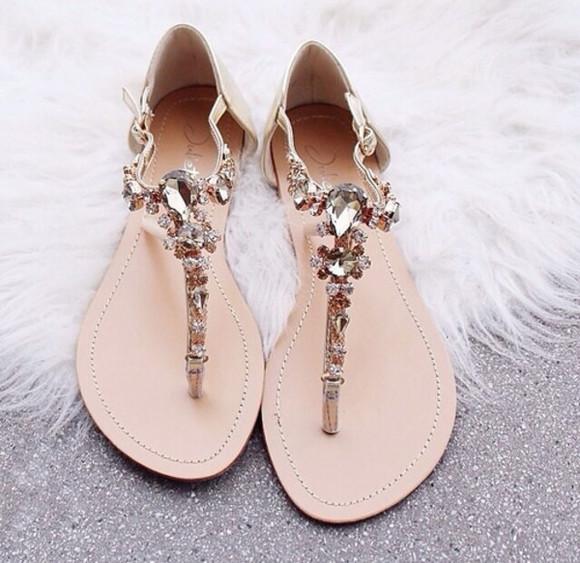 shoes sandals gemstones