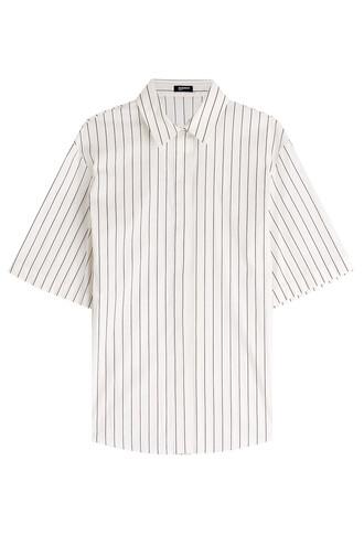blouse cotton stripes top