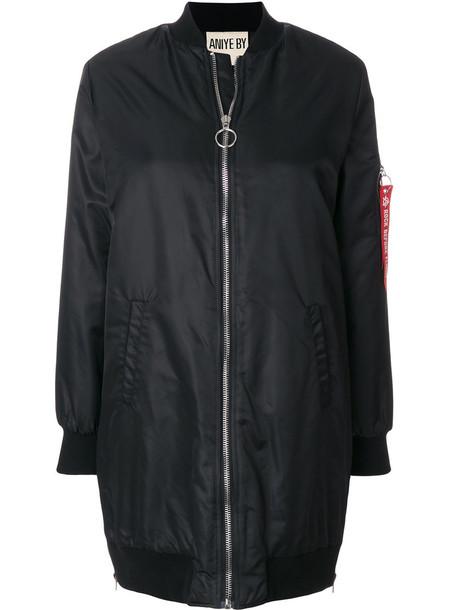 jacket bomber jacket oversized women spandex cotton black