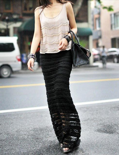 Length skirts