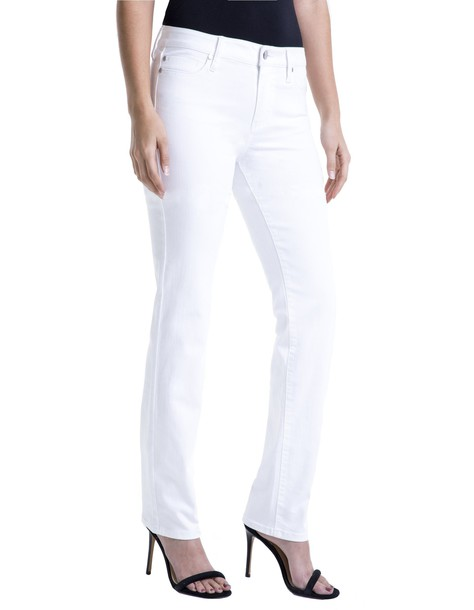 Liverpool jeans straight jeans white bright